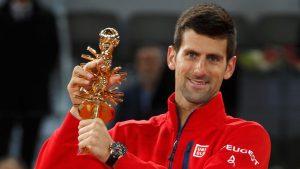 Novak Djokovic, Novak Djokovic Kuikosa Madrid Open 2021., Meridianbet