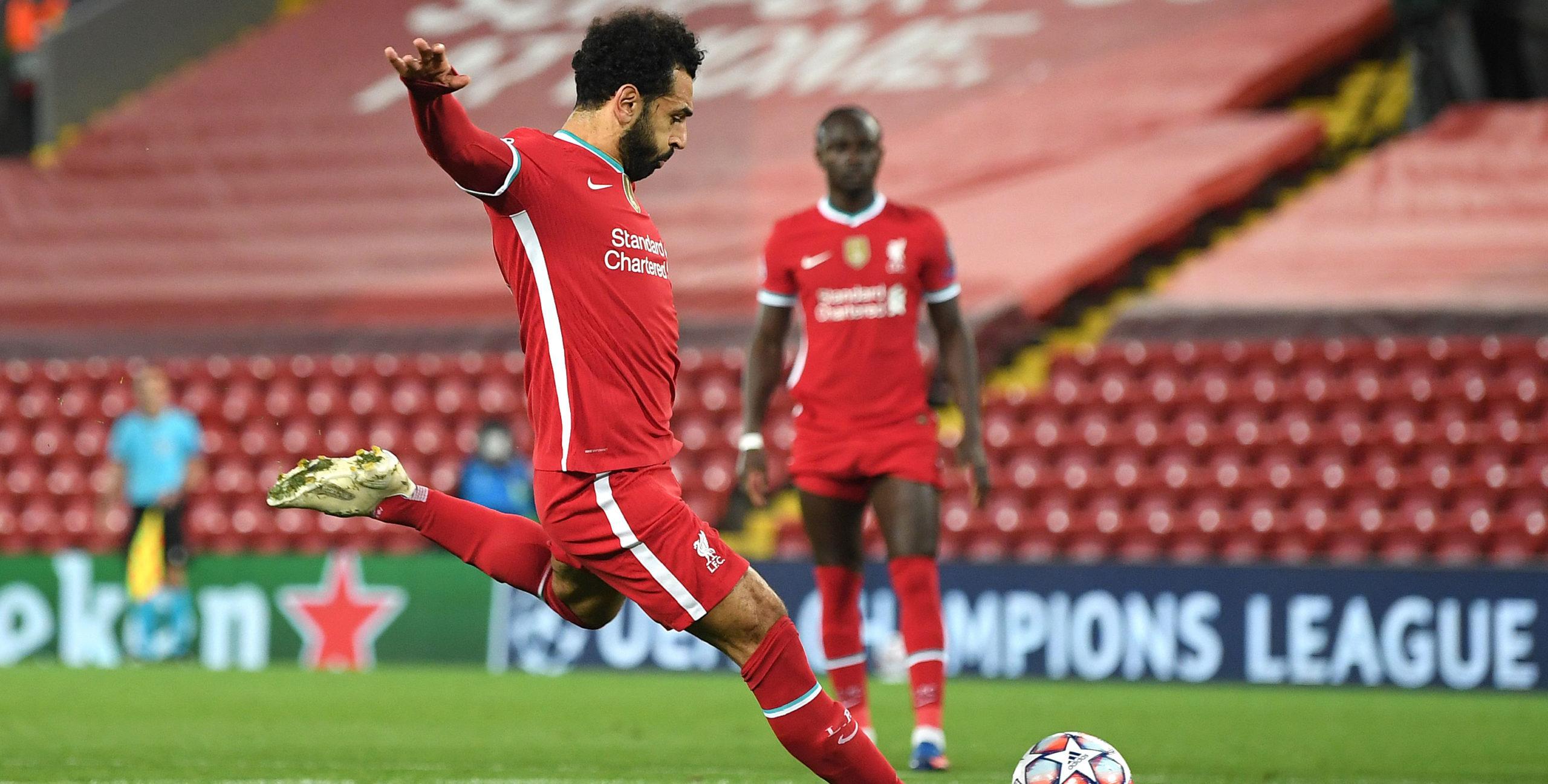 mbio za Salah Aweka Rekodi Mpya ya Mabao Liverpool