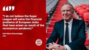Bayern Munich Haina Mpango na Super League