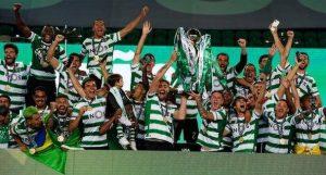 Sporting Lisbon, Sporting Lisbon Wabeba Ubingwa Baada ya Miaka 19., Meridianbet