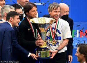 conte, Conte Out Inter Milan., Meridianbet