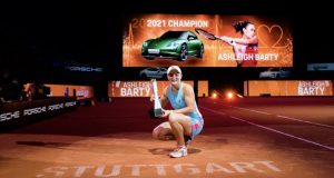 Madrid Open, Madrid Open: Barty Afuzu Fainali 2021., Meridianbet
