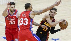 NBA, NBA: Hawks Yawazidi Kete 76ers., Meridianbet