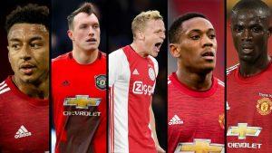 7 Wawekwa Sokoni Manchester United
